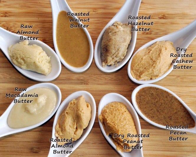 nut butters varieties